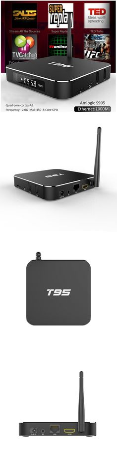 Other TV Video and Home Audio: T95 2Gb Quad-Core S905 4K 1080P Bluetooth Wifi Ddr Android Tv Media Box Set -> BUY IT NOW ONLY: $59.95 on eBay!