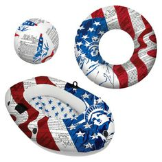 A great gift if you a stopping by a pool party this simmer. Sure to make all the kids happy. The Poolmaster Liberty Collection - 3 PACK from Target is $34.94.