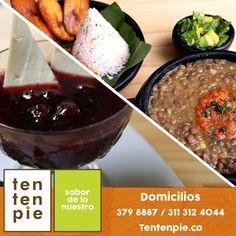 Para quienes prefieren quedarse en casa pero no son especialmente hábiles en la cocina en Tentenpie te ofrecemos menús completos de entradas, almuerzos, guarniciones y postres a elegir. #ComidaVallecaucana #CocinaVallecaucana #Cocinacali