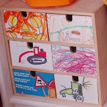 30 ideas to upcycle a toddler/kid's arts and scribbles. Brilliant ideas!