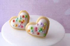 Heartthrob Butter Cookie Earrings