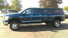 2008 Dodge Ram 3500 SLT Quad Cab Long Bed 4WD DRW truck. 6.7L Cummins diesel, only 73k miles.  Smithfield, NC. Cummins Diesel, Diesel Trucks, Dodge Ram 3500, Used Trucks, Quad, Vehicles, Vehicle, Quad Bike, Tools