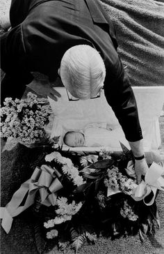 "Larry Clark Untitled (Baby Funeral, from the series ""Tulsa"") 1971/c. 1981 Signed in pencil, verso Gelatin silver print 14 x 11 inches"