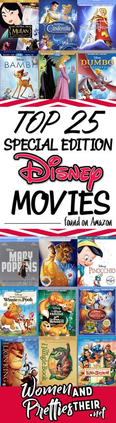 Disney loves to surprise up by re-releasing the Disney classic movies that we all love! They are slowly releasing the movies from the vault in with Disney Special Editions on Blu-ray. You can find these top 25 on Amazon right now. Get them while you still can! via @JoyceDuboise