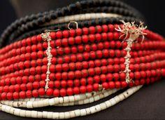 Africa   Karo necklace detail.  Omo Valley, Ethiopia   ©Eric Lafforgue