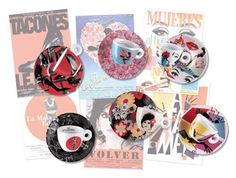 """Pedro Almodóvar's collection of Illy coffee cups is growing. First the brand launched espresso cup line """"Los Abrazos Rotos"""" (Broken Embraces), which was based on the director's latest film of the s… Cappuccino Maker, Cappuccino Coffee, Cappuccino Machine, Coffee Type, Coffee Pods, Espresso At Home, Espresso Cups, Collages D'images, Coffee Meeting"""