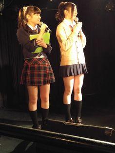 左から re-2の西島舞さん[https://twitter.com/mai_nishijima] re-2の日向聖華さん[https://twitter.com/seeeei_1225]