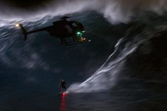 Night Rider: Mark Visser's 2am Tow In At Jaws