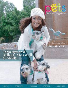 HOY llega nuestra revista, acabo la espera! Con Tania Hyman y sus tres Schnauzer en la portada, pronto estará distribuida en todo Panamá.  #PetsWorldMagazine #RevistaDeMascotas #Panama