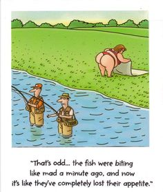 Need a laugh? Check out these hilarious fishing jokes and cartoons.