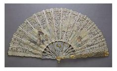 FABERGE GOLD, ENAMEL AND JEWELLED FAN, WORKMASTER MICHAEL PERCHIN