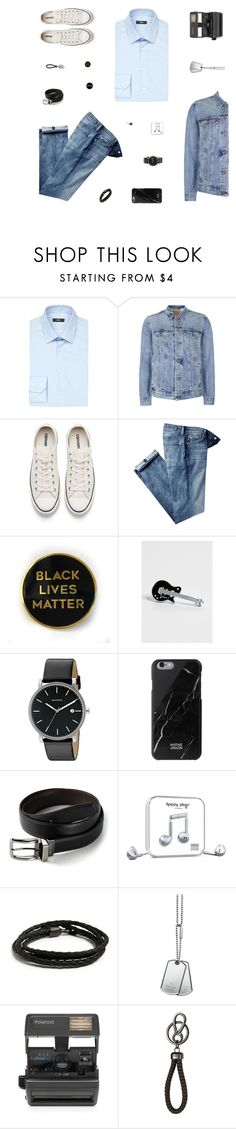 """""""Black Lives Matter"""" by belenloperfido ❤ liked on Polyvore featuring HUGO, Topman, Converse, 7 For All Mankind, maurices, Skagen, Native Union, Dockers, Happy Plugs and MIANSAI"""