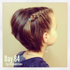 Inspirational Girly Hairstyles – New Haircut Styles Girls Hairdos, Baby Girl Hairstyles, Girl Haircuts, Easy Hairstyles, Wedding Hairstyles, Popular Hairstyles, Girl Short Hair, Short Girls, Toddler Hair