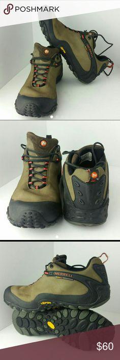 MERRELL CHAMELEON MEN'S SHOES VERY CLEAN INSIDE-OUT   SKE # ZA-2 Merrell  Shoes Chukka Boots