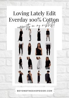I love effortless, minimalist and wearable everyday clothing. Everyday 100% Cotton on My Wishlist, made in an ethical and sustainable way. Can You Can, Passion For Fashion, Shoe Boots, The 100, About Me Blog, Minimalist, Style Inspiration, My Love, Clothing