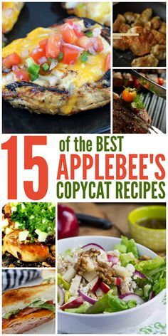 15 of the BEST Applebee's Copycat Recipes - One Crazy House