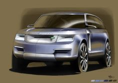Reflexion and sketching about the Range Rover. Like the 911 forPorsche, the Range is iconic so I tried to find a sober design whilekeeping the charism of the Range. I wanted traditionnal slimpicity andmodern elegance for the most emblematic SUV. Refine…