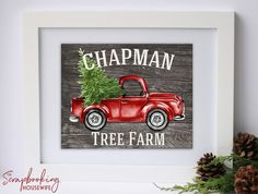 ^^Read information on wall art ideas. Click the link for more info****** Viewing the website is worth your time. Christmas Wall Art, Christmas Truck, Christmas Signs, Rustic Christmas, Christmas Projects, Red Christmas, Holiday Crafts, Christmas Decals, Free Christmas Printables