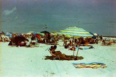 Beach, Wildwood NJ   Shot with a Nikon FM2 and Revolog 400NM film