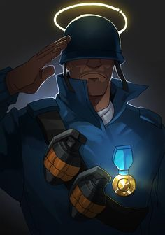 TF2 light soldier by biggreenpepper.deviantart.com