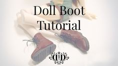 ***If you like this tutorial, it's now available as a handy A4 printable PDF! Click here for details *** Making footwear for your dolls can seem like a tricky task, but this handy, fully deta…