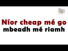 "Cuir Glaoch Orm B'fhéidir - ""Call me maybe"" as Gaeilge Irish Language, Irish People, Call Me Maybe, Irish Roots, Grandparents, Homeschooling, School Stuff, Ireland, Things I Want"