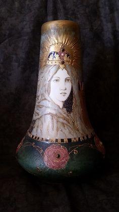 Amphora (Riessner, Stellmacher, & Kessel) Art Nouveau Vase