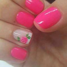 Romantic, cute and lovely valentine's day nails. Make your nails special for this special day. Cute Nail Art, Beautiful Nail Art, Nail Desighns, Nail Picking, Solar Nails, Girls Nails, Toe Nail Designs, Fabulous Nails, Spring Nails