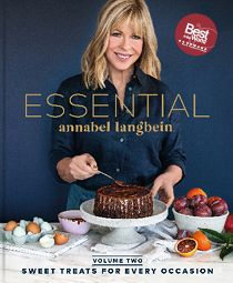 The Essential Annabel Langbein is a superb new book, where best-selling New Zealand cookbook author Annabel Langbein shares hundreds of her favourite and most popular recipes for all things sweet. Most Popular Recipes, New Recipes, Sweet Recipes, Vegan Recipes, My Cookbook, Cookbook Recipes, Eat Your Books, Buy Books, Quick Dinner Recipes
