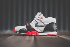nike air trainer 1 mid prm infrared 1 Nike Air Trainer 1 Infrared   Available
