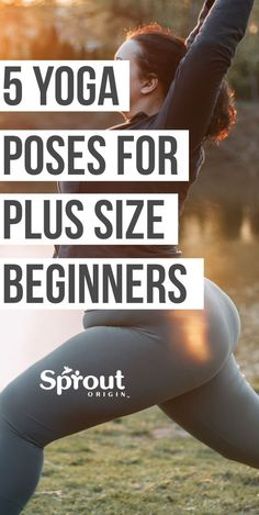 5 Yoga Poses for Plus Size Beginners Most exercise programs and gyms can be intimidating to those of us who are bigger, heavier, or simply not in the best of shape. Unfortunately, avoiding Yoga Flow, Yoga Meditation, Pilates Workout, Pilates Yoga, Yoga Inspiration, Plus Size Yoga, Yoga Routine For Beginners, Yoga Posen, Yoga For Weight Loss