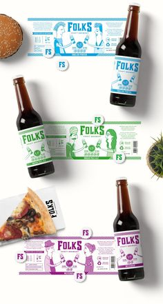 Folks Craft Brewery on Packaging of the World - Creative Package Design Gallery
