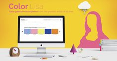 Color Lisa is a curated list of color palettes based on masterpieces of the worlds greatest artists. Each palette was painstakingly created by color obsessed designers, artists, museum curators, and masters of color theory.