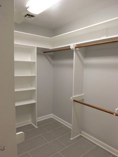 Buckingham, Apex ~ Master Bathroom Remodel - traditional - closet - raleigh - Wake Remodeling