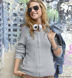 Пуловер женский от Phildar