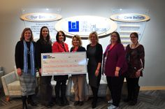 Way to go ORNL Federal Credit Union for raising $12K+ for the Red Cross! #CreditUnions #Philanthropy #Charity #Funraiser