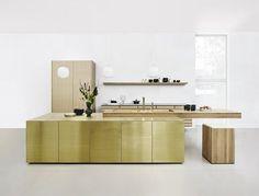 Form 45   Polished Brass - Sola Kitchens