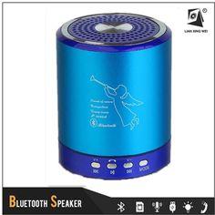 Manufacturer Aluminum Alloy FM Radio Wireless Bluetooth Aux Car Audio Player Speaker T-2020A