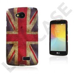 Westergaard LG F60 Deksel - Vintage UK Flagg Uk Flag, Smartphone, Phone Cases, Led, Cover, Vintage, Union Jack, Blankets