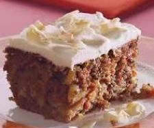 best ever carrot cake (only used 100g walnuts chopped a bit less, was amazing!!) Healthy Carrot Cakes, Healthy Cake Recipes, Low Carb Carrot Cake, Sugar Free Carrot Cake, Carrot Recipes, Healthier Desserts, Diabetic Deserts, Diabetic Recipes, Diabetic Carrot Cake Recipe