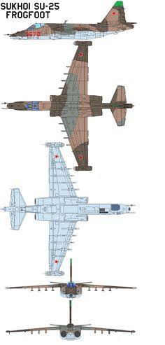 Sukhoi Su-25 Frogfoot by bagera3005