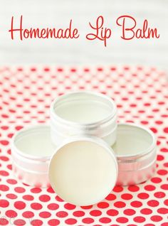 Homemade Lip Balm Recipe | Healthy Homemade Series Part 5 | Gourmande in the Kitchen