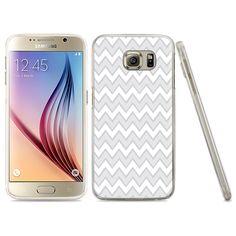 Minisuit Ultra Thin Design TPU Hybrid Case for Samsung Galaxy S6 - Chevron Gray