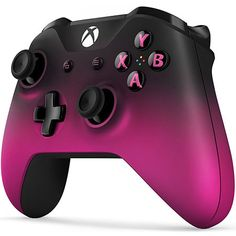 Xbox One Wireless Controller Dawn Shadow Special Edition Pink Black Bluetooth Ne Jeux Nintendo 3ds, Jeux Xbox One, Xbox 1, Xbox One S, Custom Xbox One Controller, Xbox Wireless Controller, Playstation Portable, Game Controller, Video Games Xbox