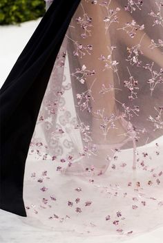 Christian Dior Spring/Summer 2013 Couture up-close at Paris Fashion Week.