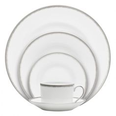 Silver Aster 5-Piece Place Setting