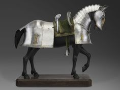 Horse Armor of Duke Ulrich of Württemberg, for use in the field. Germany, 1507
