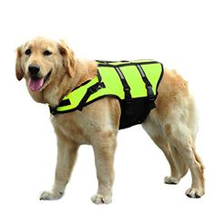 catzilla Dog Lifejacket for Swimming, Flotation Life Vest -- Discover this special cat product, click the image : Cat Apparel