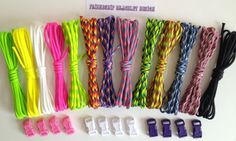 Friendship bracelet kit to make 12 awesome bright color friendship bracelets. Friendship bracelet patterns that are easy to do and will not take all day to make. The bond friendship bracelet pattern will get you started and where it takes you is endless