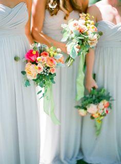 http://caratsandcake.com/moorer Bouquet and bridesmaid dresses!